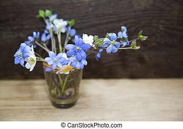 Bunch of spring flowers