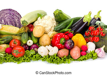 Bunch of various vegetables