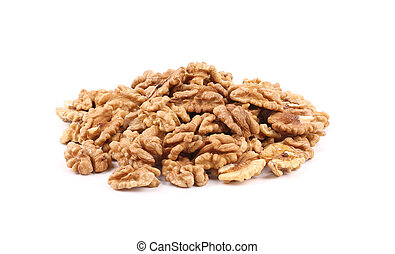 Bunch of walnuts.