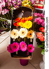 Bunches of flowers for sale
