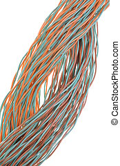 Bunches of network cables