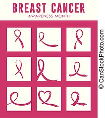 bundle cancer with ribbon pink