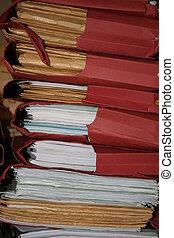 Bundle of folders