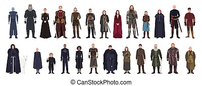 Bundle of Game of Thrones fantasy novel and TV series or...