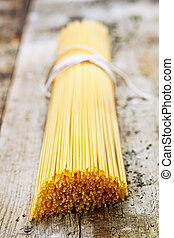 Bundle of Italian spaghetti
