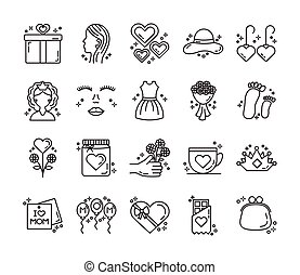 bundle of mothers day icons