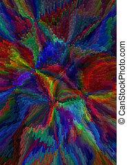 Bundles divergent color blocks