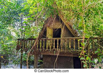 bungalow, resort tropical