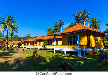 bungalows. Thailand