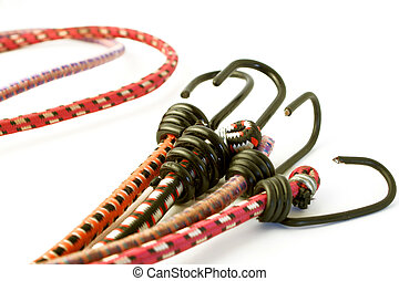 bungee cords - stretchy bungee cords with hooks for...