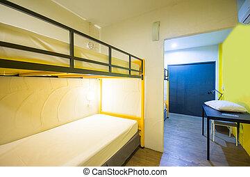 Bunk Beds in sleeping room