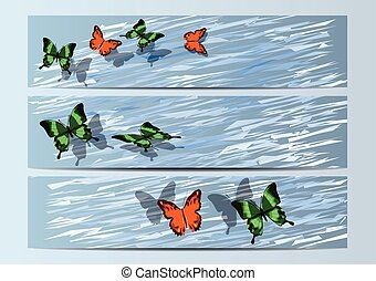 bunners with butterfly