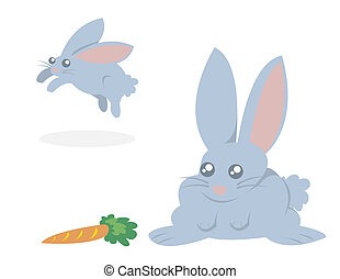 Bunnies and Carrot