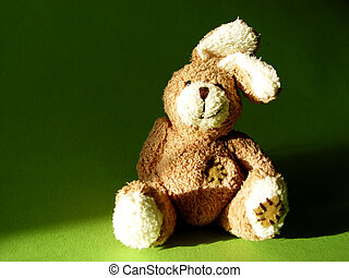 bunny 1 - fluffy toy