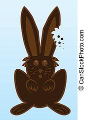 Bunny Chocolate bite