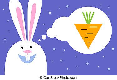 bunny dreams of carrot