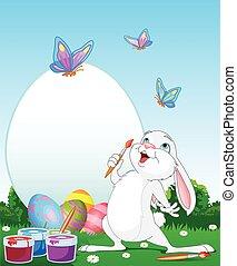 bunny easter, artista