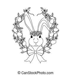 bunny easter, esboço