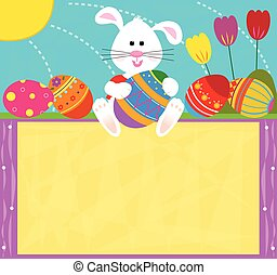 bunny easter, sinal