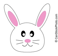 bunny face clip art and stock illustrations 2 611 bunny face eps rh canstockphoto com clipart bunny easter clipart bunny pictures