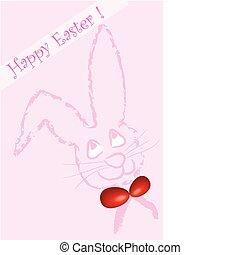 bunny., húsvét