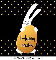 bunny happy easter