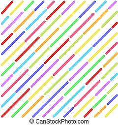 bunte, abgestreift, abstrakt, abbildung, dein, vektor, hintergrund, design, bestand