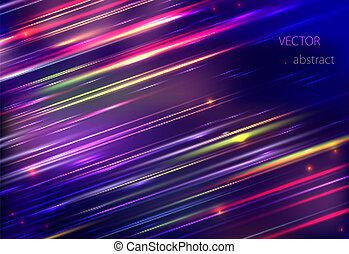 bunte, abstrakt, bewegung, vektor, hintergrund, verwischen, blank