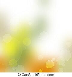 bunte, bokeh, abstrakt, licht, hintergrund