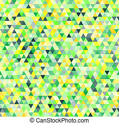 bunte, dreiecke, geometrisch, seamless, muster