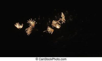 bunte, fireworks.