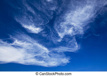 bunte, hell blau, himmelsgewölbe, hintergrund