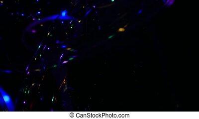 bunte, leuchtdiode, durchsichtig, balloon, lichter