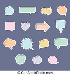 bunte, talk, blasen