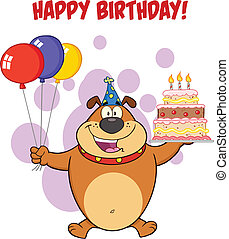 buon compleanno, bulldog