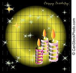 buon compleanno, fondo