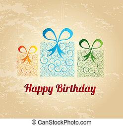 buon compleanno, regalo
