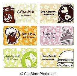 buoni, cibo, etichette