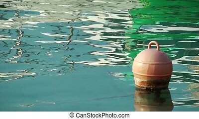 Buoy and Sea Water