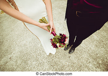 buquet, casório