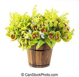 buquet, orquídea