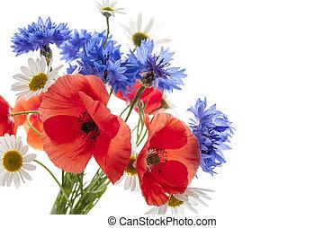 buquet, wildflower