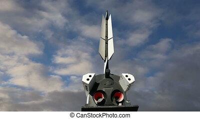 Buran spacecraft - The Buran spacecraft -- Soviet orbital...