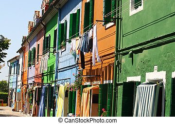 Burano, the city of a thousand colored houses 4