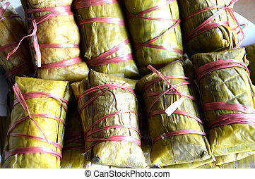 Buras is Indonesian's traditional food