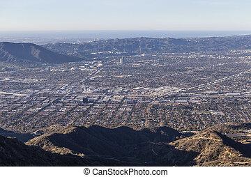 Burbank, North Hollywood and Los Angeles