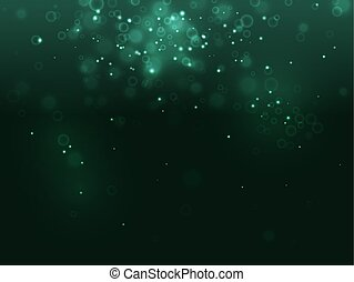 burbuja, científico, turquesa, fantasía, x-ray., chispa, ...