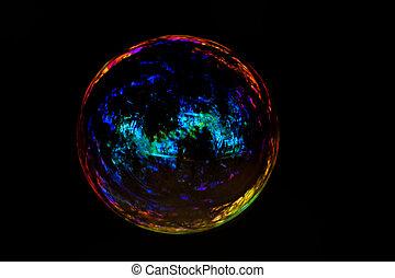 burbuja jabón