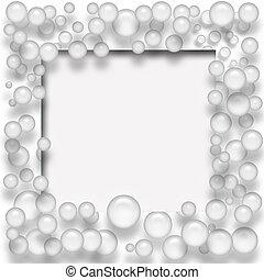 burbuja, marco