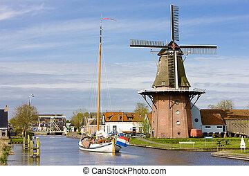 burdaard, friesland, niederlande